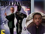 Black Panther comic signed by film's star Chadwick Boseman and co-creator Stan Lee is up for auction