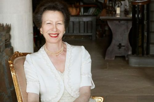 Princess Anne relaxed and smiling in new pictures released for 70th birthday