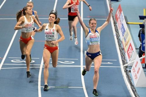 Keely Hodgkinson reveals star quality to conquer Europe at first attempt