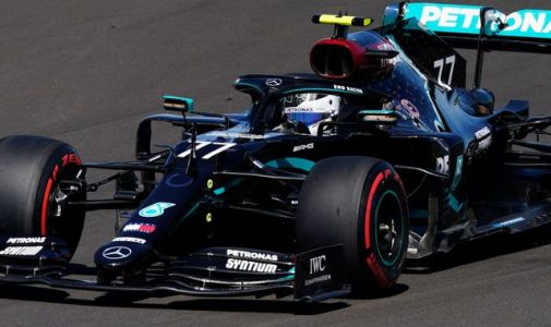 70th Anniversary GP Qualifying: Valtteri Bottas beats Lewis Hamilton to pole