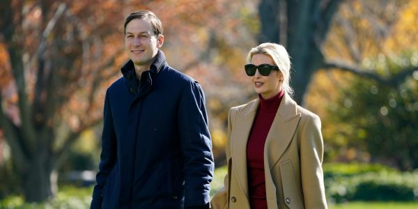 Trump's obsessive rants about the 2020 election have driven away his daughter Ivanka and son-in-law Jared Kushner, report says