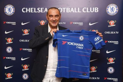 Maurizio Sarri announced as new Chelsea boss after Blues part company with Antonio Conte