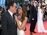 Quentin Tarantino, 56, cosies up to wife Daniella Pick at Once Upon A Time In Hollywood premiere