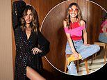 Missé Beqiri models a selection of chic outfits for new fashion campaign