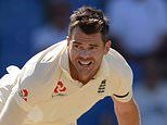 James Anderson named in 17-man squad for England's tour of South Africa