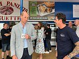 Kate Middleton and Prince William visit Gavin & Stacey slot matching arcade in Barry Island
