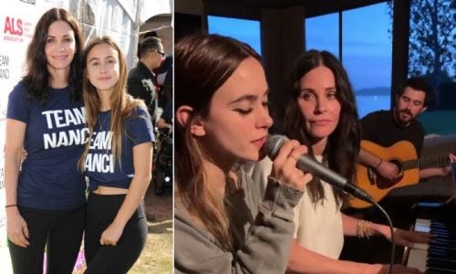 Courteney Cox's daughter shows off rare talent as Friends star celebrates early Mother's Day