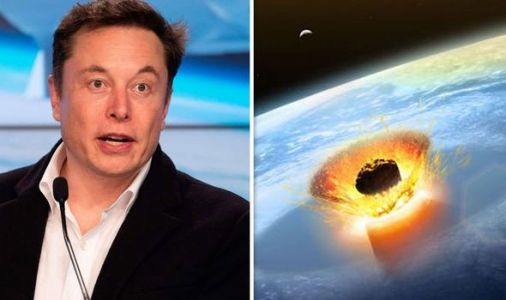 God of Chaos: Elon Musk tweets shock asteroid warning - 'it's coming we have NO defence'