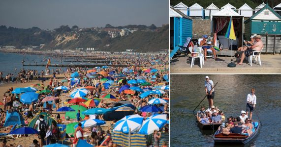 New record for hottest ever August bank holiday as mercury passes 31.6C