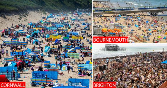 Cornwall mum 'scared to go shopping' as huge crowds turn resorts into 'Benidorm on steroids'