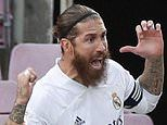 Sergio Ramos and Real Madrid 'in DEADLOCK over new contract after he demanded two-year extension'