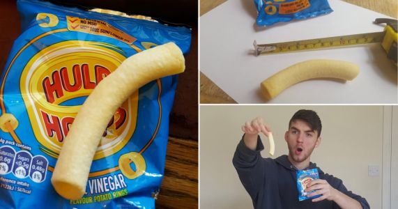 Man claims he's found 'world's biggest Hula Hoop' measuring nearly 10cm