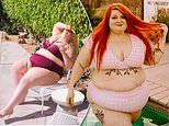 Woman, 32, who was sent to FAT CAMPS as a child reveals she is happier than ever weighing300LBS