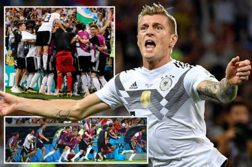 Germany 2-1 Sweden: Toni Kroos hits last-gasp winner to keep holders' hopes of World Cup 2018 glory alive