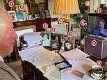 Inside Prince Charles' office at Birkhall