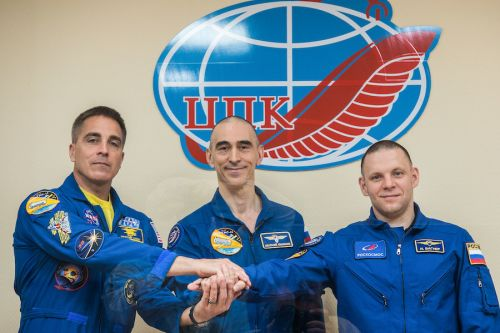 NASA astronaut, two cosmonauts set for Thursday launch to space station