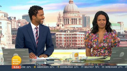 GMB's Ranvir Singh apologises for saying Queen 'doesn't do very much': 'I fumbled it'