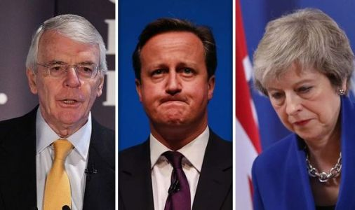 Brexit humiliation: Incendiary claim Theresa May and David Cameron snubbed by John Major