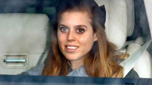 The outfit Princess Beatrice wore the night before her wedding is very laid back