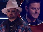 Boy George is the first mentor on The Voice to lose a team member after Luke Antony is eliminated