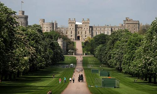 Windsor Castle garden open to public for first time in 40 years