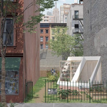 New Affiliates' Testbeds project to build community buildings from discarded architecture models