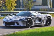 Mystery Ferrari LaFerrari prototype spotted with new bodywork