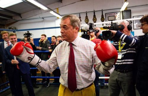 Nigel Farage Axes Brexit Party Candidates Across The Country
