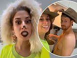 Stacey Solomon dresses up in a DIY wolf costume in hilarious TikTok video
