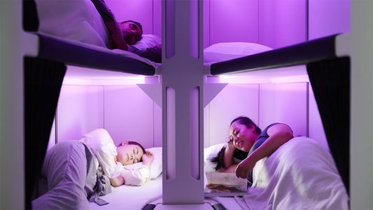 Air New Zealand unveils new lie-flat sleeping pods for economy class