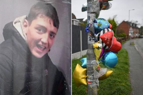 Tributes to boy, 14, who died in 'stolen' car crash during police chase
