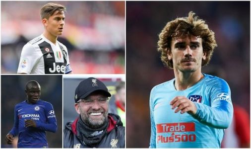 Transfer news LIVE: Liverpool target Paulo Dybala, Man Utd favourites to sign Griezmann