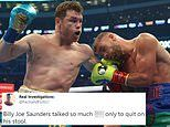 Billy Joe Saunders slammed on social media for quitting again Canelo Alvarez in Texas