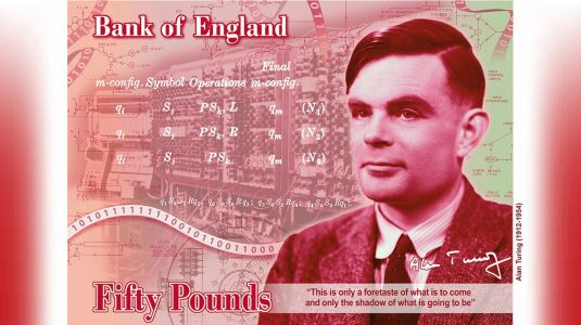 Alan Turing: from persecuted pioneer to face of the £50 note
