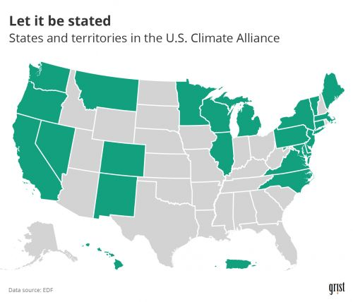 25 states promised to stay in the Paris Agreement. Did they follow through?