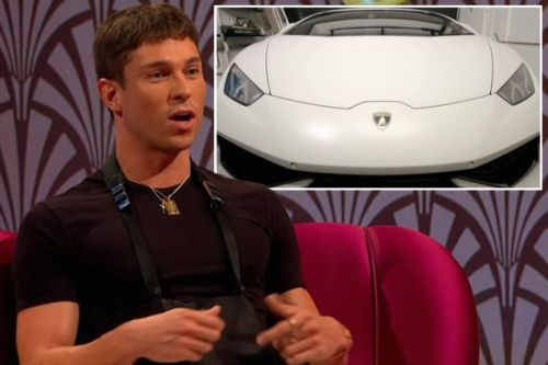 Inside Joey Essex's pad as he flaunts surprising wealth in Through the Keyhole and a LAMBORGHINI