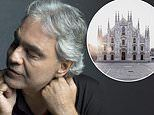 Andrea Bocelli to stream special live concert at Duomo di Milano on Easter Sunday
