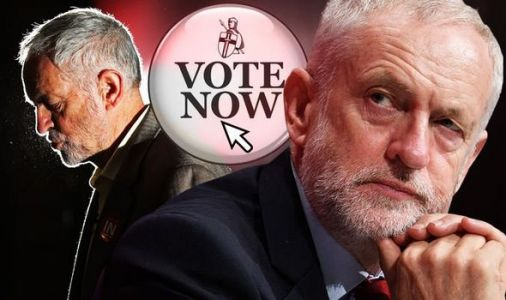 Jeremy Corbyn crisis: Should Labour Party leader quit now? Vote in Express.co.uk poll