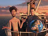Justin Bieber, Ariana Grande, and Leonardo DiCaprio lead A-list cast in Lil Dicky's Earth video