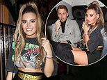Love Island's Megan Barton Hanson bundles into a cab with millionaire Charlie Brake after night out