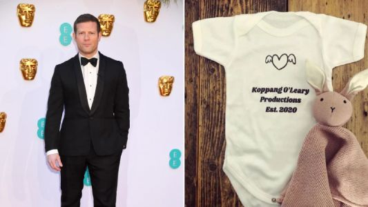 Dermot O'Leary reveals son's name live on radio show as he dedicates song to newborn