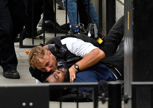 At least 13 arrested in London protests as BLM demonstrators clash with police