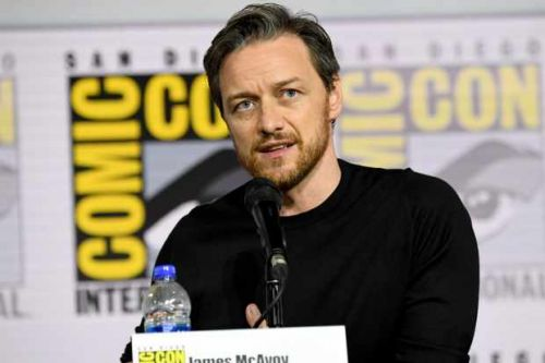 James McAvoy has donated £275,000 to the NHS