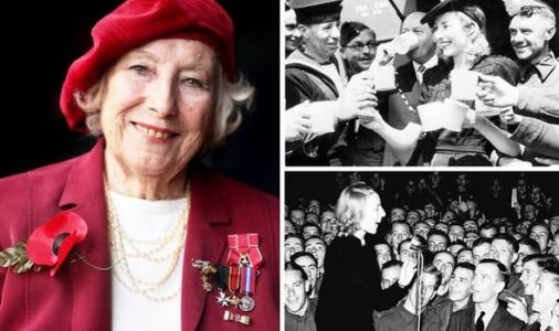 VJ Day 75: Late Dame Vera Lynn's sacrifice for the 'forgotten army' during WW2 exposed