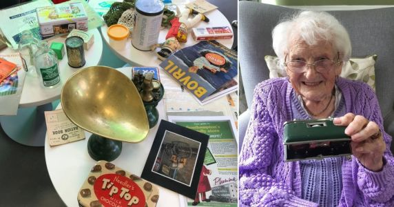A memory box charity that helps people with dementia is calling for urgent funding