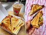 Flyover Fritterie restaurant in Sydney has just FOUR menu items - including jaffles