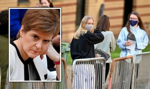 SNP outrage as Scottish students risk being BANNED from travelling home under new law