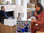 The Cambridges are isolating at Amner Hall and George Charlotte and Louis are loving the freedom