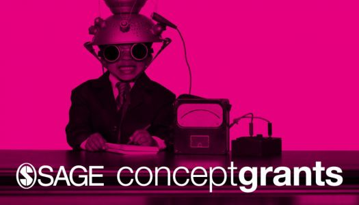 SAGE Concept Grants: Open for Applications