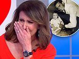 Sunrise host Natalie Barr breaks down in tears live on The Morning Show over her father's death